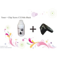Toner + Chip Xerox C3210dx BLACK