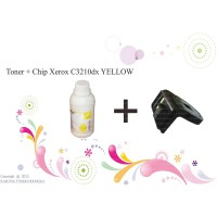 Toner + Chip Xerox C3210dx YELLOW