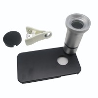 Flower & Insect Microscope Lens for iPhone 4 - A-UC-FL01 - Silver