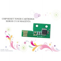 CHIP RESET TONER CARTRIDGE XEROX C1110 MAGENTA