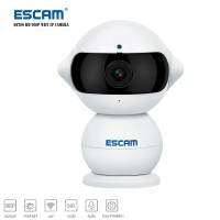 ESCAM Elf QF200 WIFI IP Camera CCTV Infrared Night Vision 960P - White