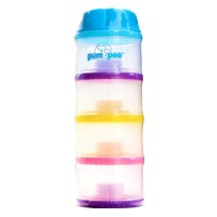 Pumpee 4 Layers Exclusive Milk Container / Tempat susu bayi/Kotak susu bayi mini 4 susun/tempat susu