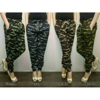 CELANA JOGGER ARMY FOR LADIES