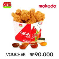MOR GIGA: 6 PCS SUPER CRISPY FRIED CHICKEN