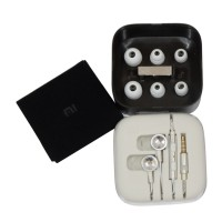 Handsfree Xiaomi Piston Swarovski Earphone ORIGINAL Headset / Earphone Colorful - Silver