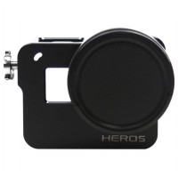 CNC Aluminium Protective Case for GoPro Hero 5 - Black