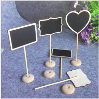 Papan Tulis Mini Hitam Hiasan Dekorasi Meja TZ2 Home Decor Blackboard