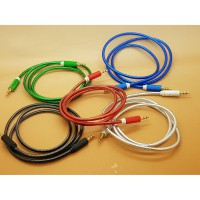 Kabel Jack Stereo-Stereo 3,5 Inch Silicon ( 1 Meter )