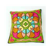 HF1264 - Sarung Bantal Fashion Embroidery