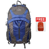 Luminox Hiking Backpack 5036 50L - Biru Tua + Free Bag Cover
