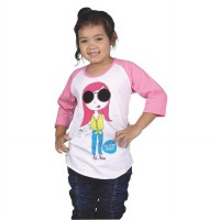 Catenzo Junior T-Shirt Anak Perempuan - CPSx512 Girls Are Cool