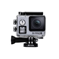 TERBARU - BRICA B-PRO 5 Alpha Edition Mark IIs (AE2s) 4K WIFI Action Camera With Microphone - Silver