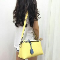 JUAL TAS FENDI BTW SMALL TRICOLOR YELLOW ORIGINAL ASLI