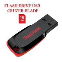 Sandisk FLASH DRIVE USB CRUZER BLADE 16GB Original