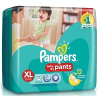 Pampers Baby Dry Pants paket 2 pcs XL22