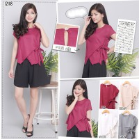 [Calista] Exclusive Casual Blouse / 4 colours