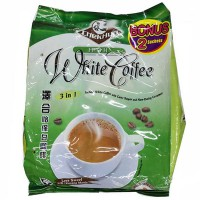 Chek Hup 3 in 1 Ipoh White Coffee Less Sweet Extra 2 sachet - 15x35 Gr