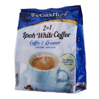 Chek Hup 2 in 1 Ipoh White Coffee No Sugar Added Extra 2 sachet - 15x30 Gr