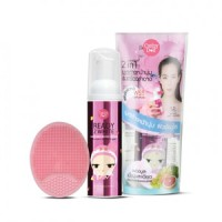 Cathy Doll Ready 2 White 2in1 Bubble Mousse Cleanser (70ml) Free Spons
