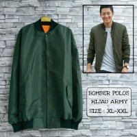 Jaket Bomber |Jaket Bomber Jokowi | Jaket Jokowi XL fit to XXL | Jaket Bomber Polos