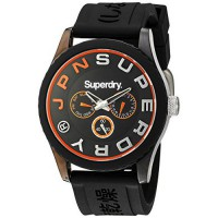 [macyskorea] Superdry Mens Tokyo Multi Quartz Plastic and Silicone Dress Watch, Color:Blue/14948084
