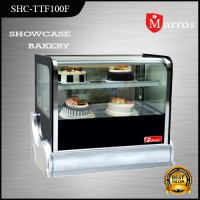 Showcase Tempat Pajang Kue Table Top Showcase Cool Fomac SHC-TTF100F