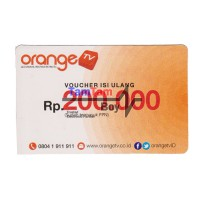 Orange TV Voucher 200rb Ku Band dan C Band