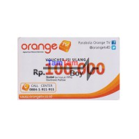 Orange TV Voucher 100rb Ku Band dan C Band