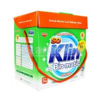 So klin bio matic top load /bukaan depan - hijau