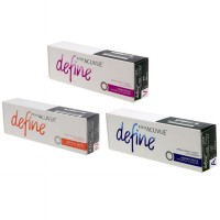 Acuvue 1 Day Define Accent Style Black Natural Shine Glow Vivid Style Warna Big Brighter Eyes