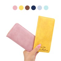 10 Pilihan Dompet Wanita Card Holder Kulit - Women Long Wallet