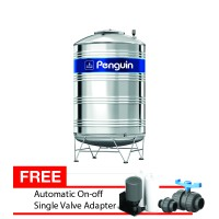 Tangki Air Penguin Stainless steel 304 FW2 Japan Kapasitas 1.000 Liter Free Automatic & Single Valve