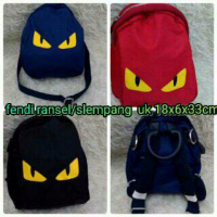 [BIGSALE] TAS FENDI MONSTER 2IN1 RANSEL + SELEMPANG