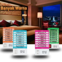 EELIC 224 4PCS SMD LED BIRU,ORANGE,PINK,HIJAU 2 Watt Multifungsi Alat Electronik Anti Nyamuk