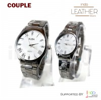 Jam Tangan COUPLE Al Ba WAC02 BONUS BOX EXCLUSIVE