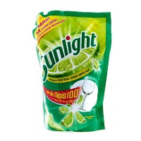 Sunlight Sabun Cuci Cair Lime Reffil 800 ML