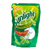 Sunlight Sabun Cuci Cair Lime Reffil 400 ML