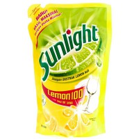 Sunlight Sabun Cuci Cair Lemon Reffil 800 ML