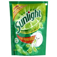Sunlight Lime Refill Sabun Cuci - 200 ml