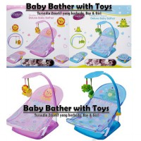 FBCA02 - Carter's Deluxe Baby Bather with Toys