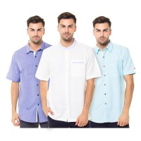 |BRANDED - CONTEMPO| Collection Men Shirt - Kemeja Pria Lengan Pendek