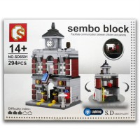 Sembo Block SD6501 Town Hall 294 Pcs (Kitchen)
