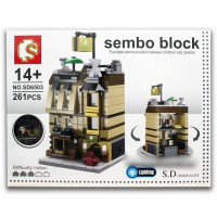 Sembo Block SD6503 Holiday Inn 261 Pcs
