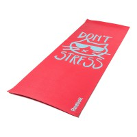 MATRAS REEBOK DOUBLE SIDED YOGA MAT RED DON'T STRESS 4MM
