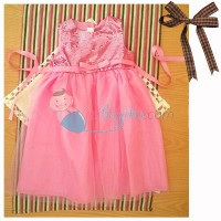 Kiddie Wear Mote Dress Color Pink For Girls Age 2YR - 2YR | 0 Review(s)