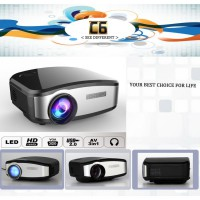 Proyektor Cheerlux C6 Mini Projector Portable Led Lcd 1200 Lumens