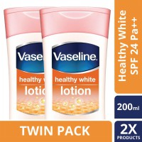 [TWIN PACK] Vaseline Lotion Healthy White Spf24 Pa   200ML