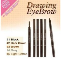 DRAWING EYEBROW ETUDE House Eye Brow + Brush (Pensil + Sikat/Kuas)