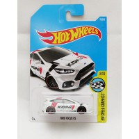 Hotwheels Ford Focus RS - Koni - putih