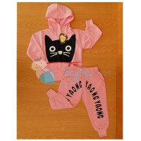 Kiddie Wear Single Cat Size 120 Color Pink For Girls Age 5YR - 6YR